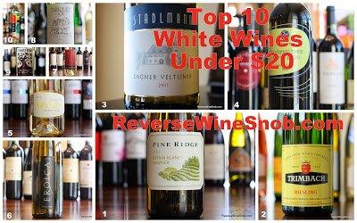 Top 10 Whites 2014