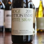 Ridge Lytton Estate Petite Sirah 2011 – A Sure Thing