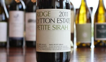 Ridge Lytton Estate Petite Sirah – A Sure Thing