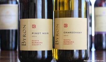 Byron Santa Barbara County Chardonnay and Pinot Noir – Easy
