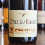 2011-Vidal-Fleury-Cotes-du-Rhone-Rouge