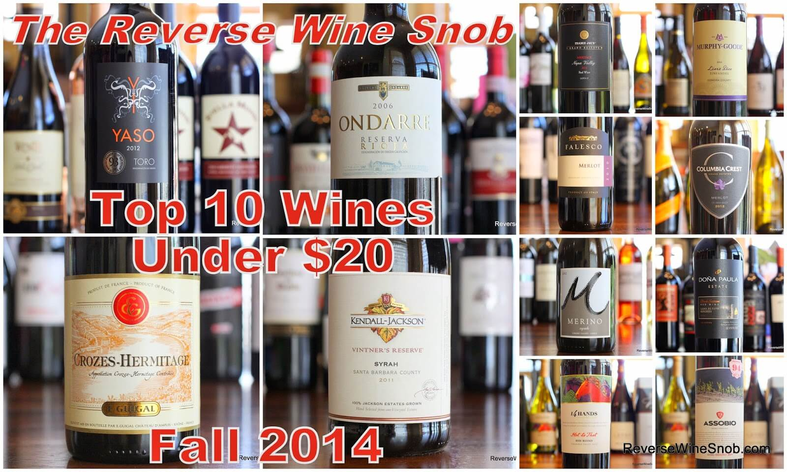 top 10 red wines under 20 - Best Red Wine