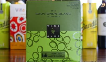 The Best Box Wines – Target Wine Cube Sauvignon Blanc and govino Wine Glasses