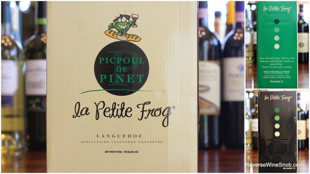 Best White Wines - La Petite Frog Picpoul De Pinet - The Best Box Wines