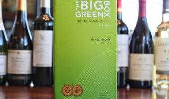 The Best Box Wines – Pepperwood Grove The Big Green Box Pinot Noir