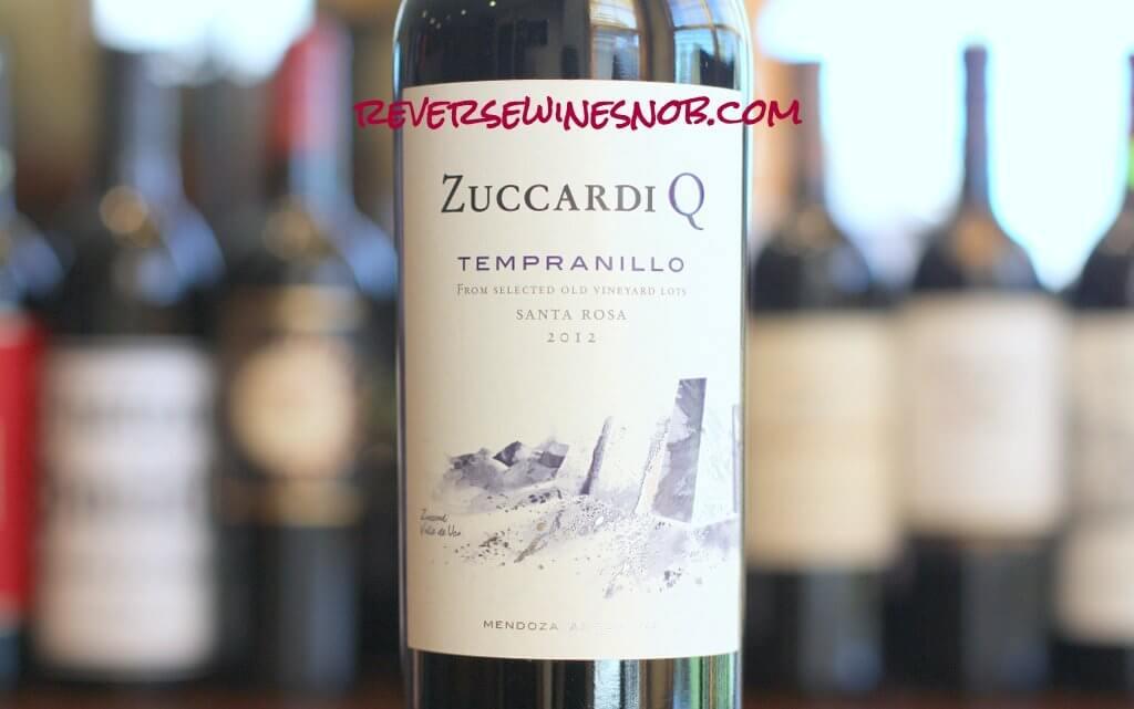 Zuccardi Q Tempranillo - An Eye Opener