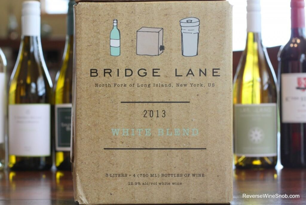 Best White Wines Under $20 - Lieb Cellars Bridge Lane White Blend