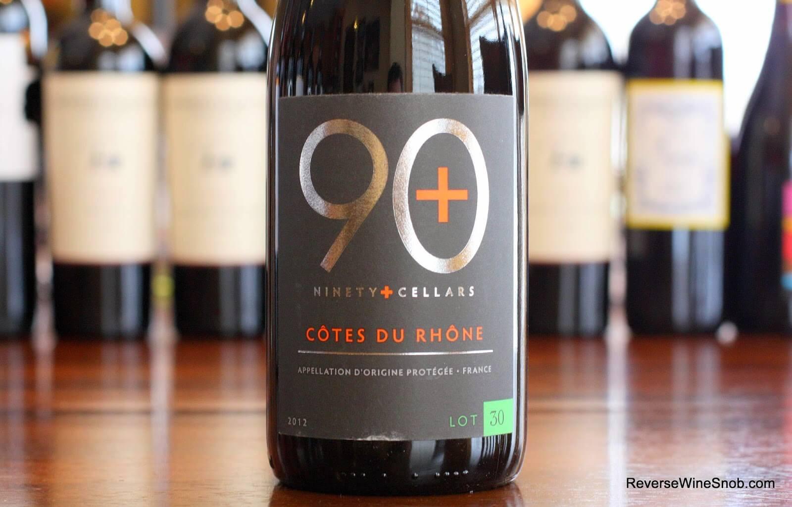 2012-90-Plus-Cellars-Lot-30-Cotes-du-Rhone