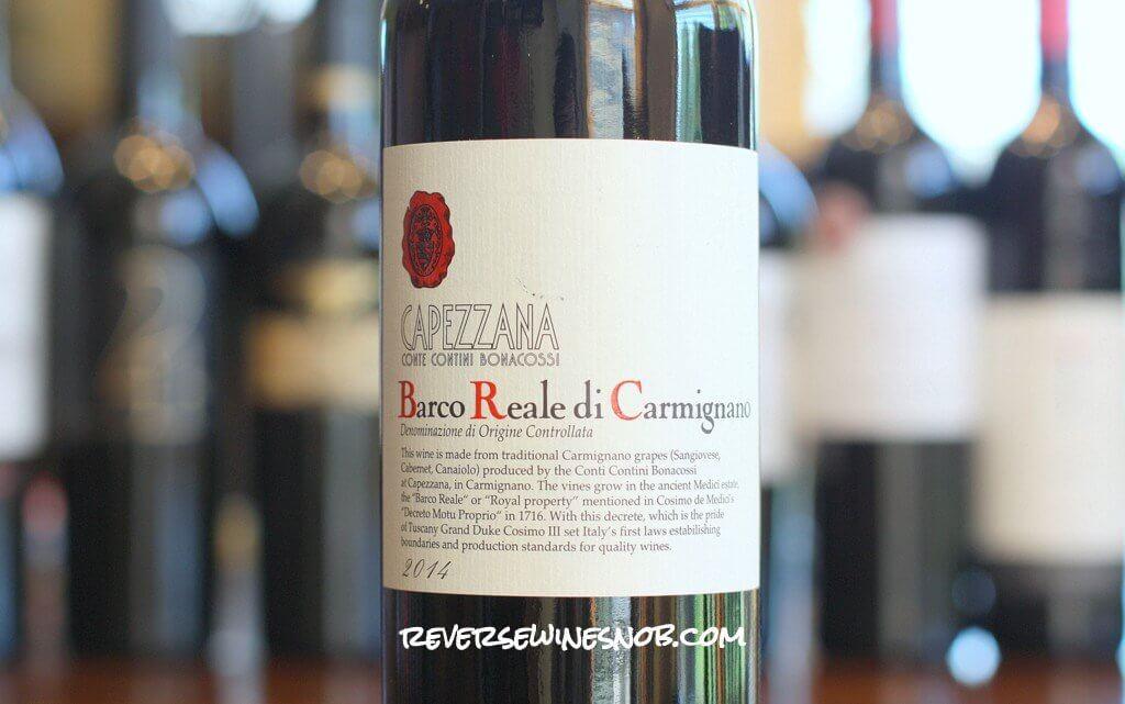 Capezzana Barco Reale di Carmignano - A Tuscan Classic