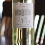 Chateau le Thil Comte Clary Blanc 2008 – Delectable