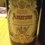 Conte di Bregonzo Amarone Della Valpolicella 2010 – Vino Velvet