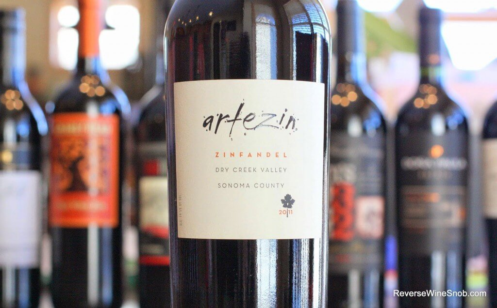 Artezin Dry Creek Valley Zinfandel - Zin At Its Best