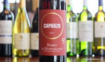 Warming Winter Reds Wine #8 – Caparzo Rosso di Montalcino 2011