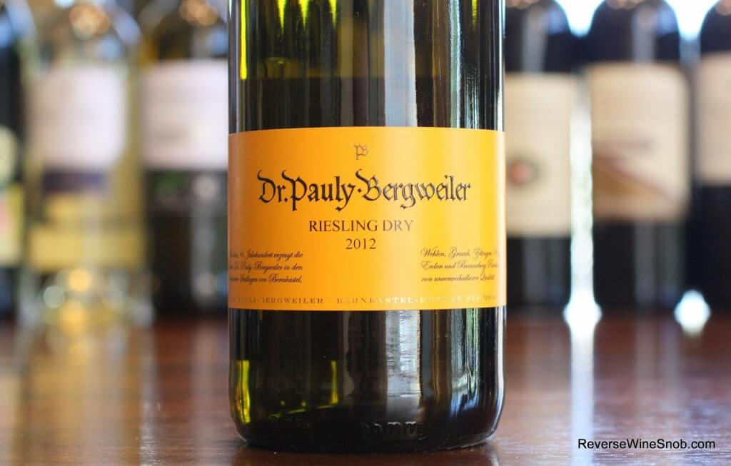 Best White Wines - Dr. Pauly-Bergweiler Dry Riesling - Just What The Doctor Ordered