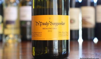Dr. Pauly-Bergweiler Dry Riesling 2012 – Just What The Doctor Ordered