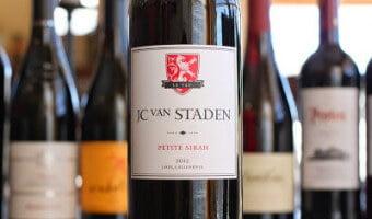JC Van Staden Petite Sirah – Value, Value, Value