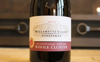 Oregon Wine – Pinot Noir and Much Much More Plus the 2012 Willamette Valley Vineyard Whole Cluster Pinot Noir
