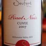 Seufert Winery Pinot Noir Cuvée 2007 – Hunt For The Best Pinot Noir Under $20