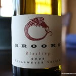 Brooks Willamette Valley Riesling 2009 – Downright Delicious