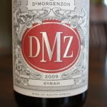 DeMorgenzon DMZ Syrah 2009 – Smoking!