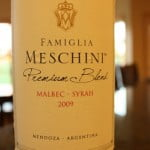 Famiglia Meschini Premium Malbec Syrah 2009 – Silky Smooth With a Nice Kick