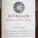 Echelon Collection Series Russian River Valley Pinot Noir – Flavorful And Spicy