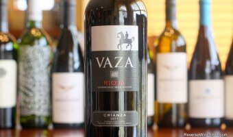 Vaza Crianza 2011 – A Match Made in Heaven