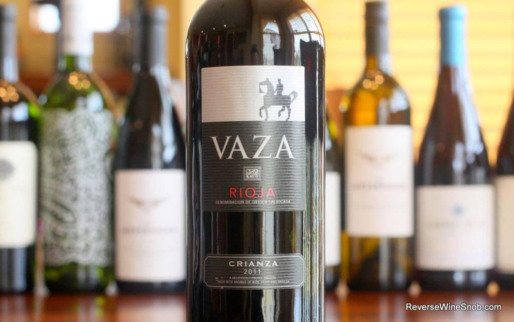 Vaza Crianza 2011 - A Match Made in Heaven