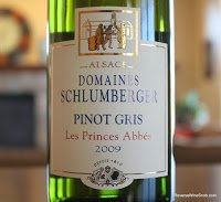 Domaines Schlumberger Les Princes Abbes Pinot Gris 2009 - Recommended Buy