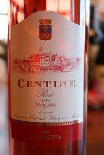 Banfi Centine Rosé Toscana 2010 - Succulent Strawberry With A Hint of Sea Salt