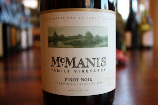 McManis Family Vineyards Pinot Noir 2010 - Hunt For The Best Pinot Noir Under $20