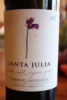 Santa Julia Organica Cabernet Sauvignon 2010