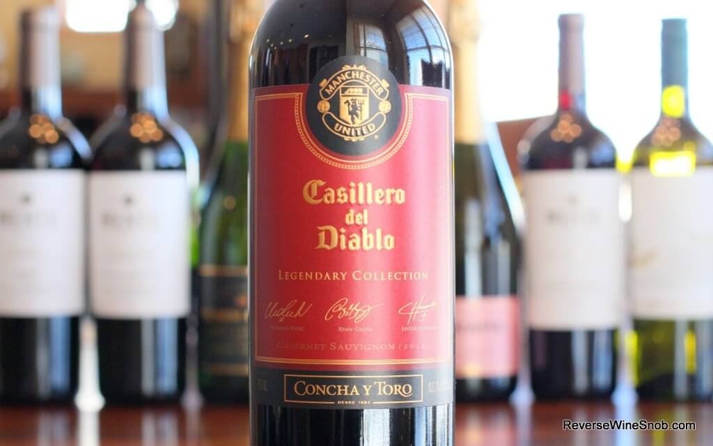 Casillero Del Diablo Manchester United Legendary Collection - Devilishly Good