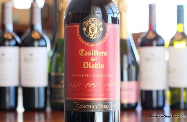 Casillero Del Diablo Manchester United Legendary Collection - Devilishly Good