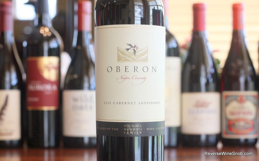 Oberon Napa Cabernet - A Bona Fide Burger Wine