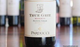 Parducci True Grit Reserve Petite Sirah – A Stampede of Big, Rich Flavors