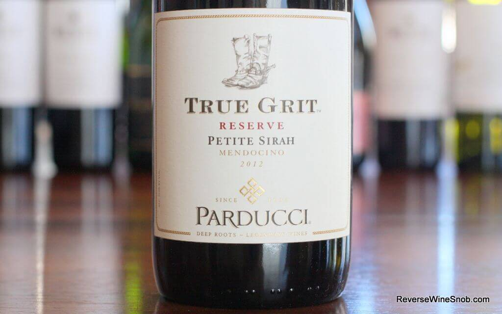 Parducci True Grit Reserve Petite Sirah - A Stampede of Big, Rich Flavors