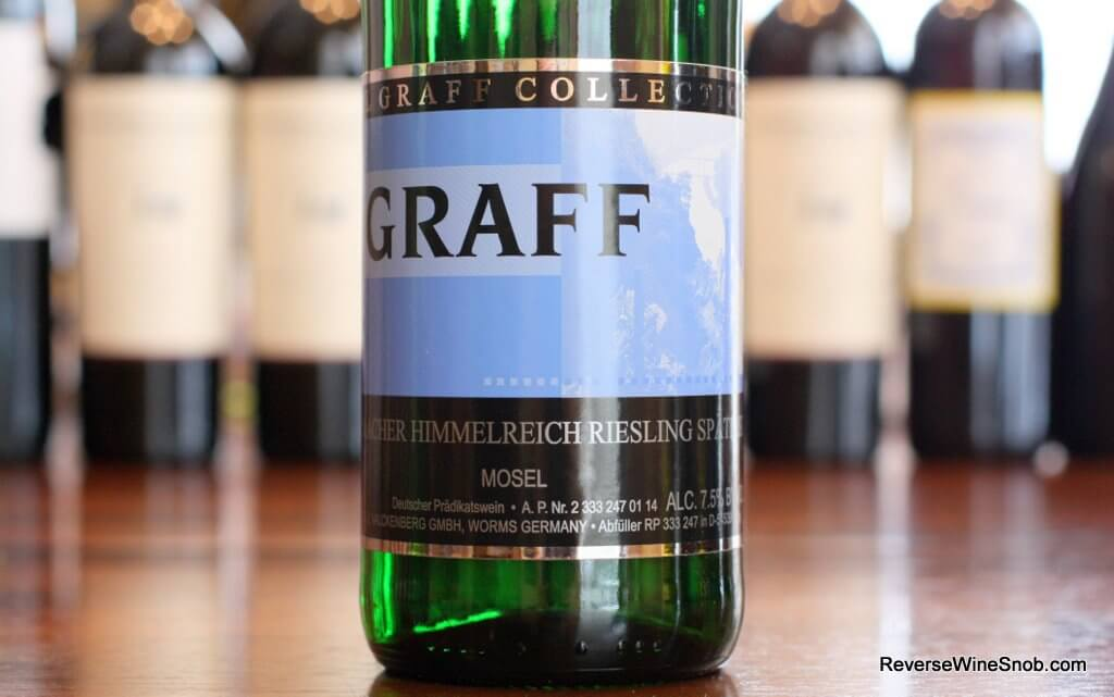 2013 Carl Graff Graacher Himmelreich Riesling Spatlese - Sweet and Lively!
