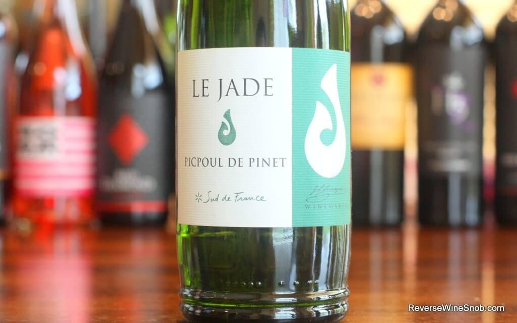 Best White Wines - Le Jade Picpoul De Pinet - Fresh, Snappy and Very Good
