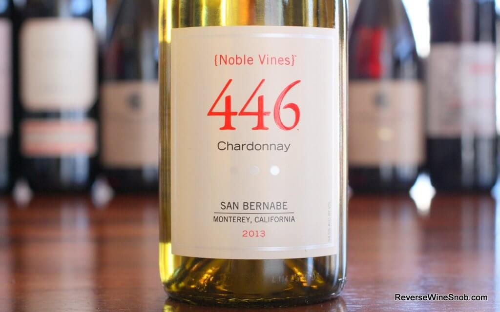 Noble Vines 446 Chardonnay - Royally Good