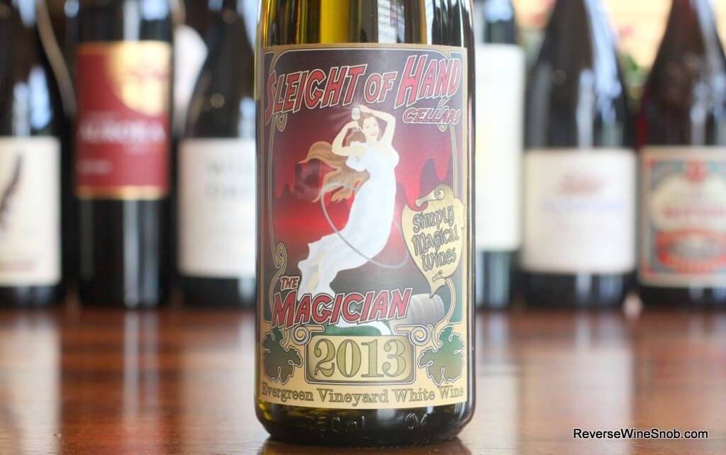 Sleight of Hand Cellars The Magician Riesling - No Joke