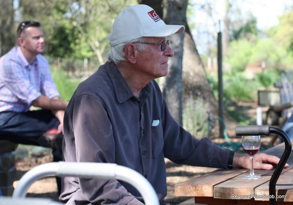 Bob Koth of Mokelumne Glen Vineyards