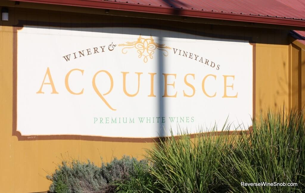 Acquiesce Winery and Vineyards