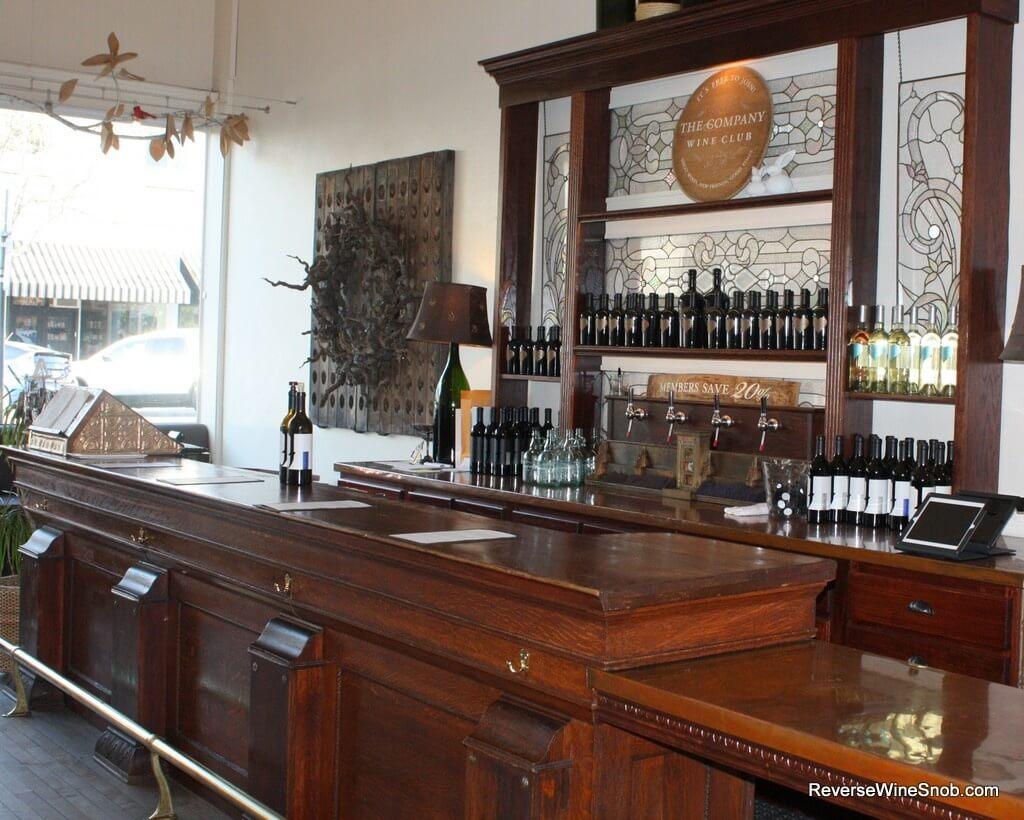 The Jeremy Wine Co 1850s bar, found on Craig's List!