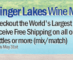 Celebrate Finger Lakes Wine Month With Free Shipping On All New York State Wine from Marketview Liquor!
