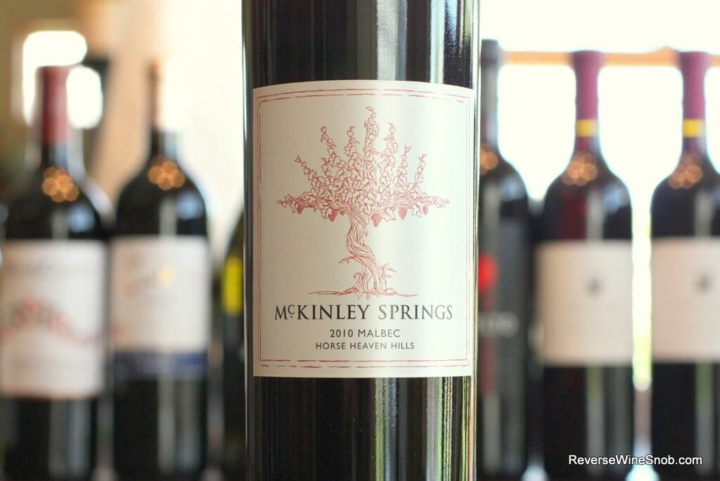 McKinley Springs Horse Heaven Hills Malbec - Eye-Openingly Good