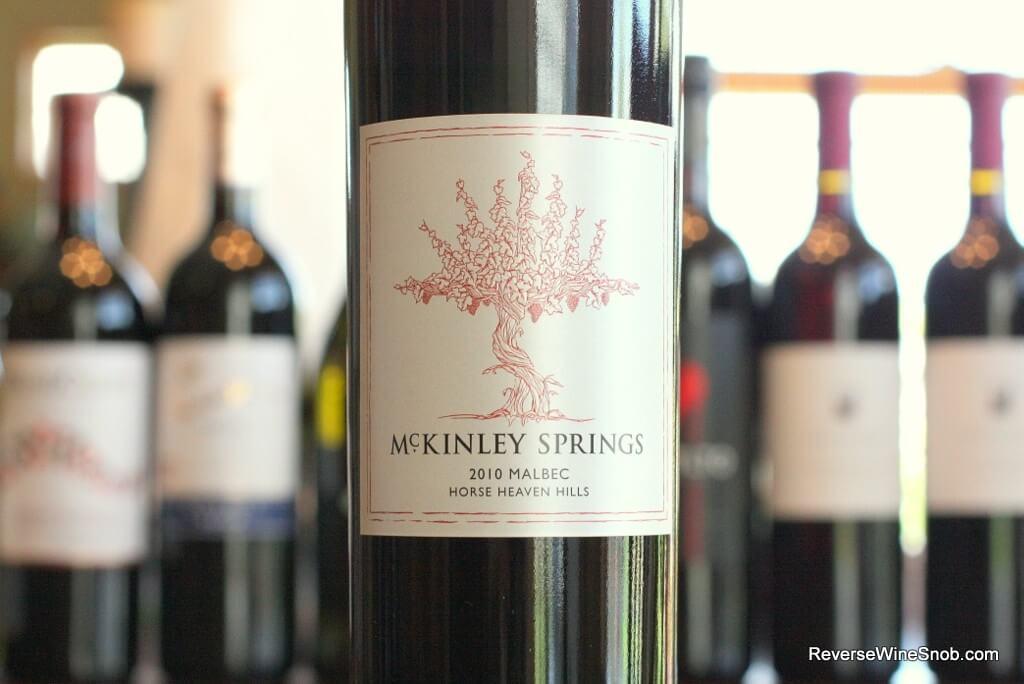 McKinley Springs Horse Heaven Hills Malbec - Eye-Openingly Good