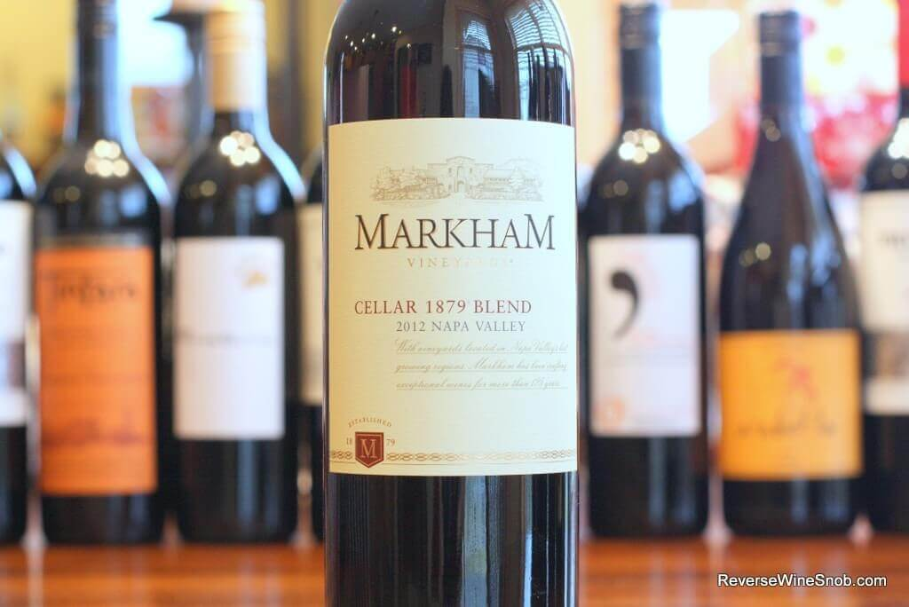 Markham Vineyards Cellar 1879 Blend - Hits The Spot