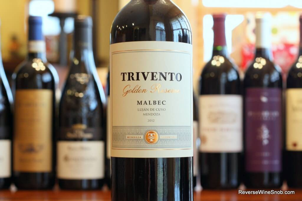 Trivento Golden Reserve Malbec - It's Good
