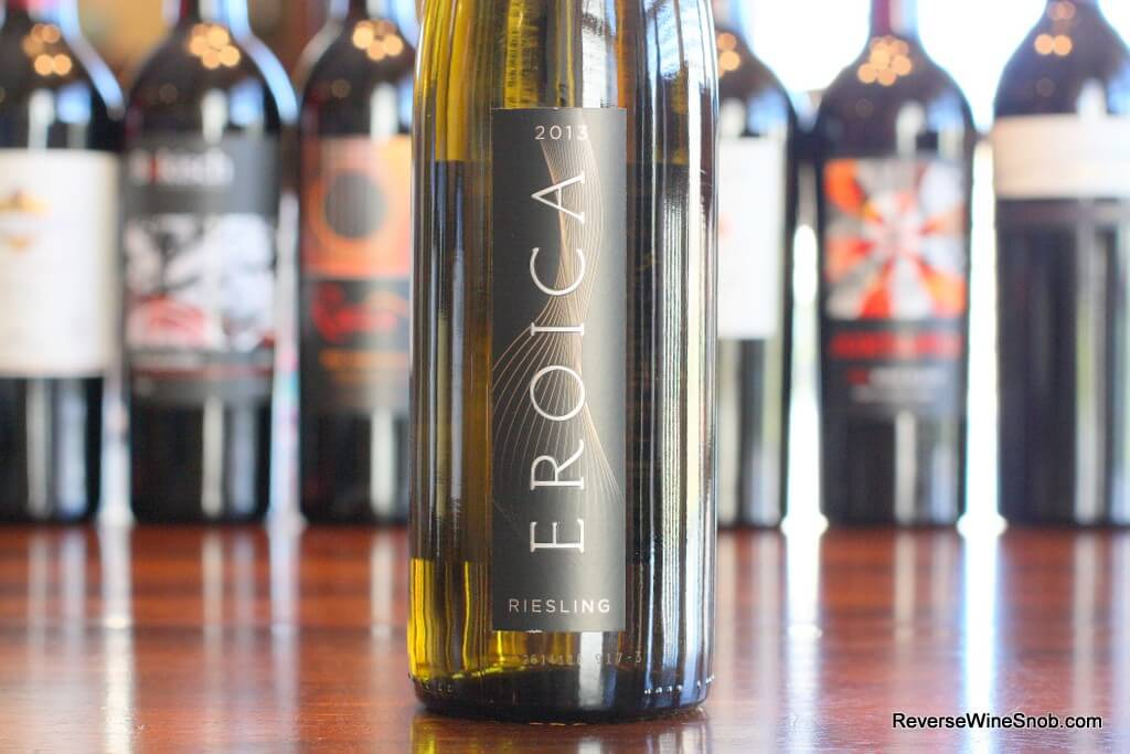 Best White Wines Under $20 - Eroica Riesling - Masterful